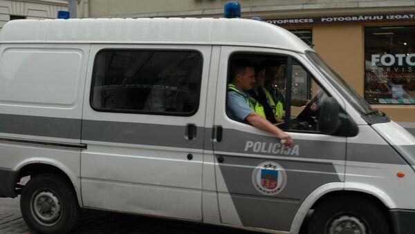 Рижская полиция. Архивное фото