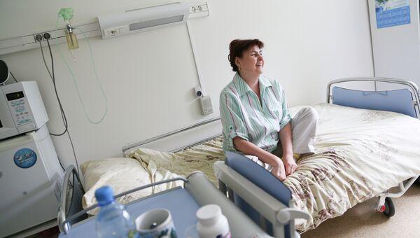 Пациент хоспис, архивное фото