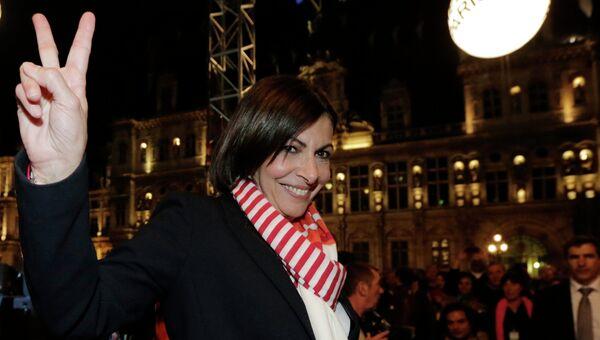 Анн Идальго обеспечила себе победу на выборах мэра Парижа