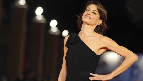 Итальянская актриса Анита Кравос. Архивное фото