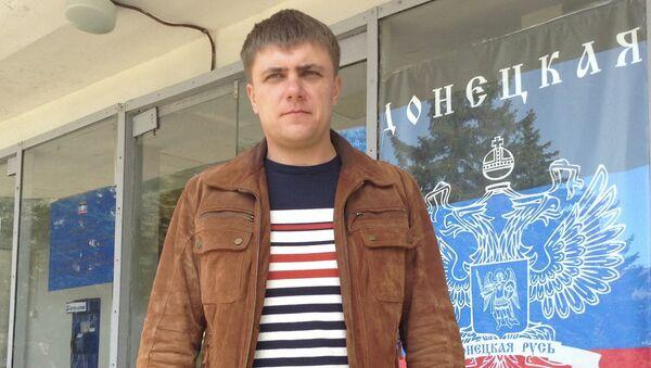 Народный мэр Горловки Александр Сапунов, архивное фото
