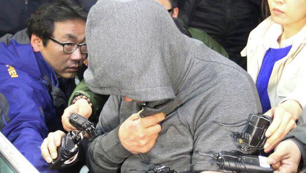 Капитан затонувшего южнокорейского судна Севол Ли Чжун Сок