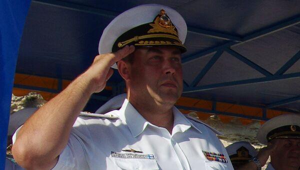 Контр-адмирал Денис Березовский. Архивное фото