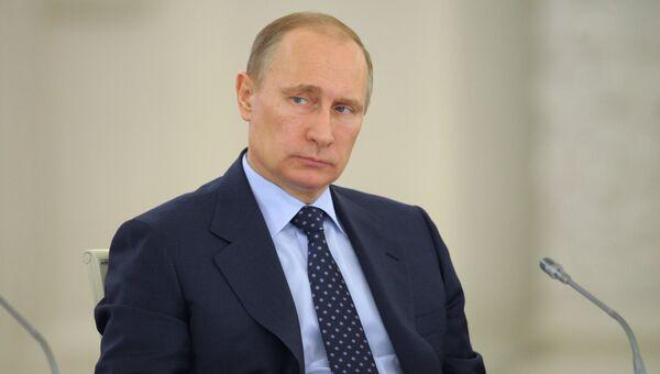 Совместное заседание Госсовета РФ и Совета по нацпроектам и демографической политике. Архивное фото