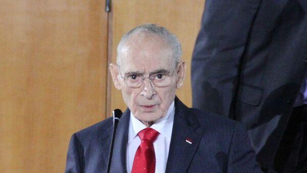 Вице-премьер Йован Кркобабич на заседании правительства Сербии. Архивное фото