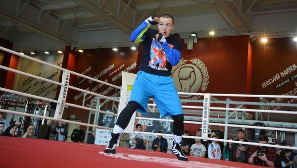 Чемпион мира в первом тяжелом весе по версии WBA Денис Лебедев. Архивное фото