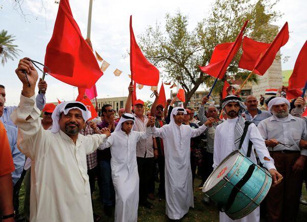 Празднование 1 мая в Ираке