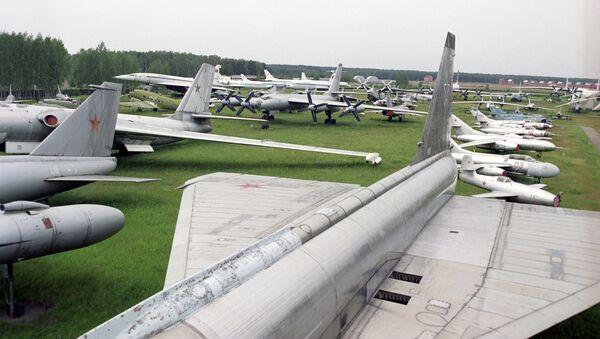 Центральный музей Военно-воздушных сил Российской Федерации. Архивное фото