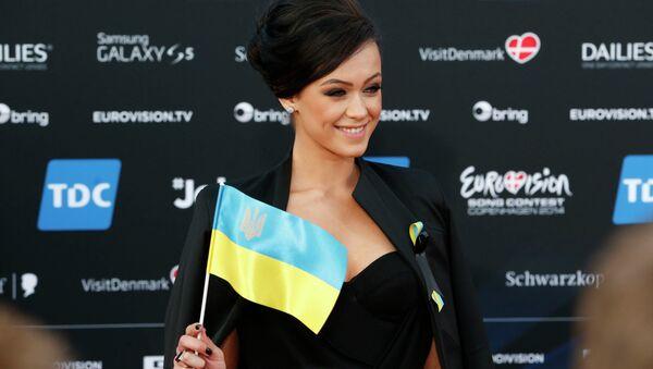 Участница от Украины на Евровидении-2014 Мария Яремчук. Архивное фото