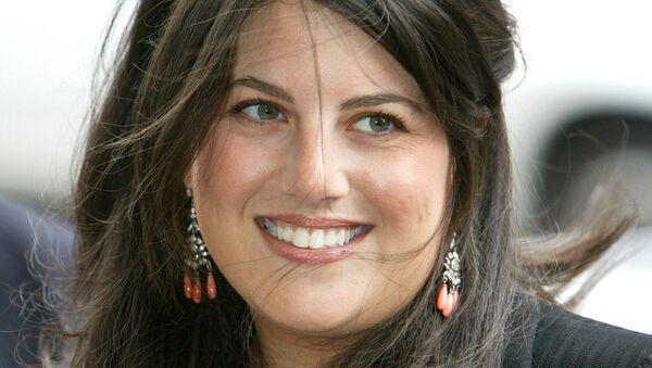 Бывшая сотрудница американского Белого дома Моника Левински (фотография от 28 августа 2004 года)