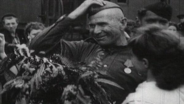 Первый праздник Победы. Съемки 9 мая 1945 года