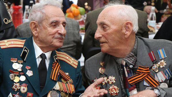 Ветераны. Архивное фото