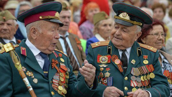 Празднование Дня Победы в Новороссийске