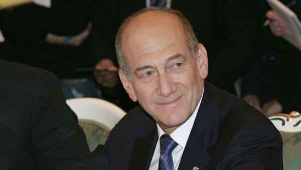 Бывший премьер Израиля Эхуд Ольмерт. Архивное фото