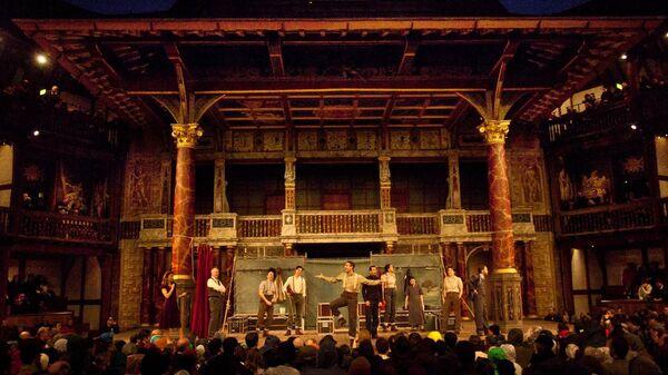 Спектакль Гамлет театра Глобус
