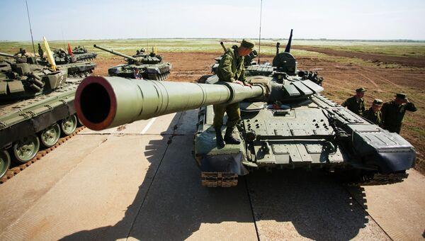 Российские танки. Архивное фото