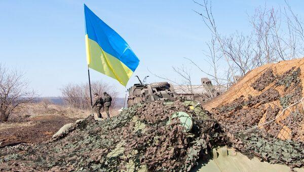 На границе между Украиной и Россией, архивное фото