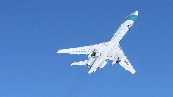Пассажирский авиалайнер Ту-154М