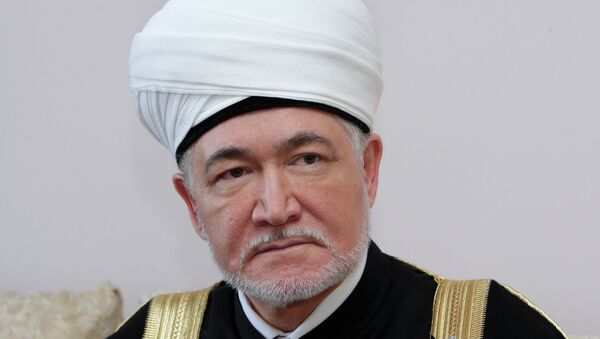 Председатель совета муфтиев России Равиль Гайнутдин. Архивное фото