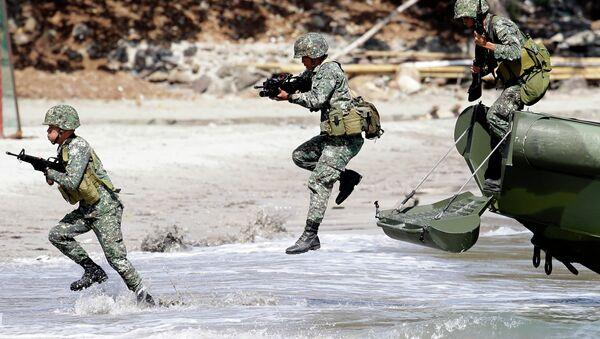 Военные на Филиппинах. Архивное фото