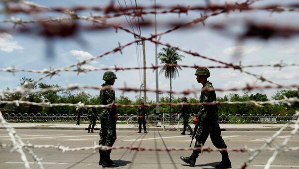 Ситуация в Бангкоке 20 мая 2014