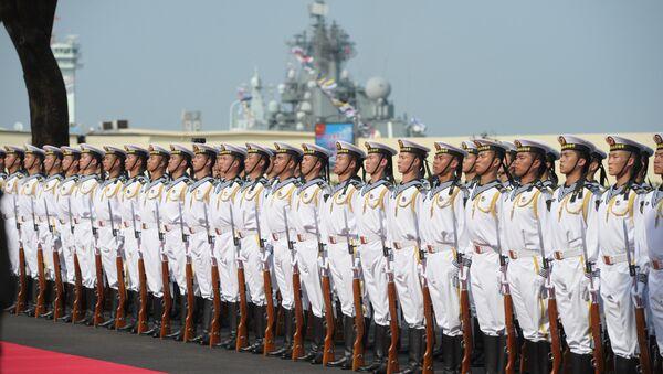 Китайские моряки. Архивное фото