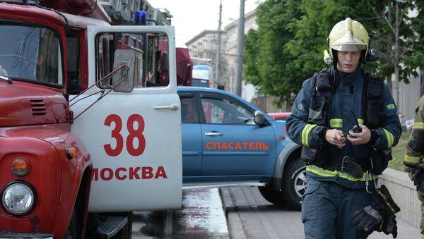 Взрыв бытового газа на Кутузовском проспекте в Москве