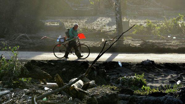 Последствия наводнения в Боснии и Герцоговине, архивное фото