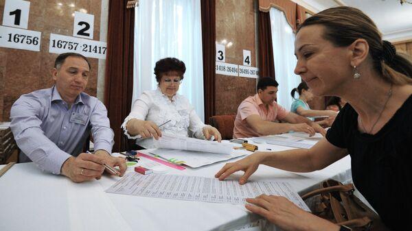 Голосование на выборах президента Украины в России