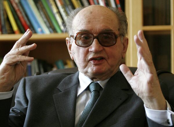 Бывший президент Польши Войцех Ярузельский