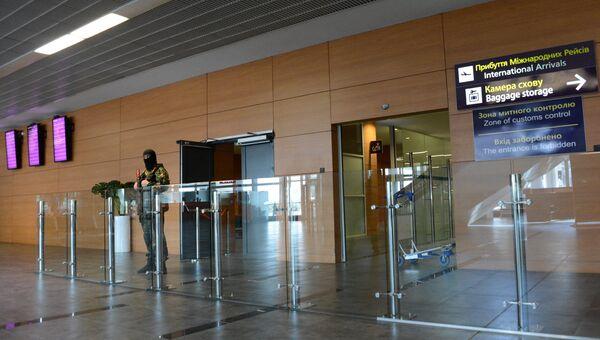 Международный аэропорт Донецка. Архивное фото