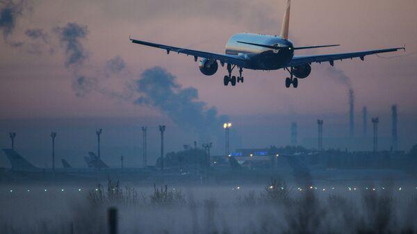 Аэропорт Толмачево в Новосибирске. Архивное фото