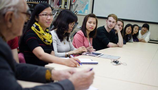 Иностранные студенты Томского государственного университета