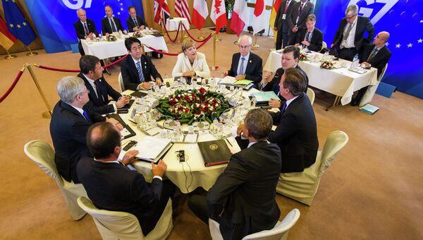 Саммит G7 в Брюсселе. Архивное фото