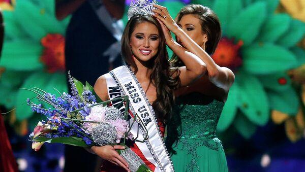 Мисс Невада Ниа Санчез стала обладательницей титула Мисс США