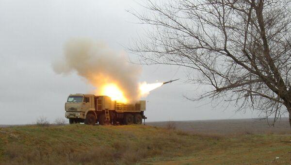 Пуск ракеты Панцирь-С1. Архивное фото