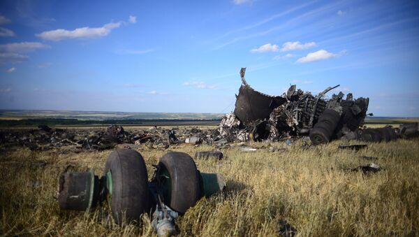Место падения самолета ИЛ-76 ВВС Украины. Архивное фото