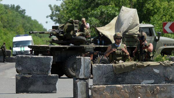 Украинские силовики.