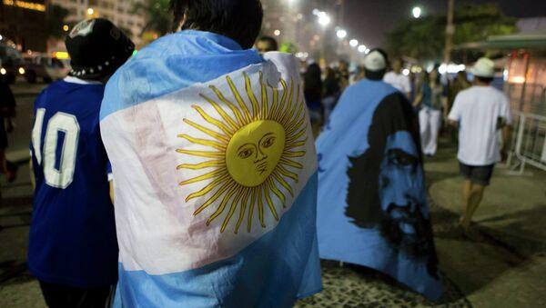 Фанаты сборной Аргентины