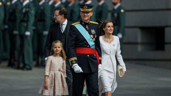 Новый король Испании Фелипе VI. Архивное фото