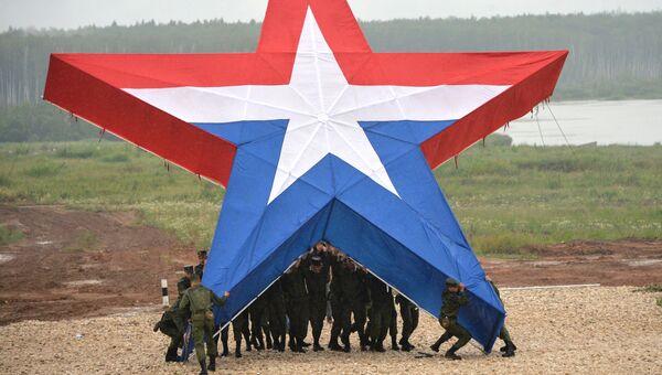 Презентация знака Армия России, Архивное фото