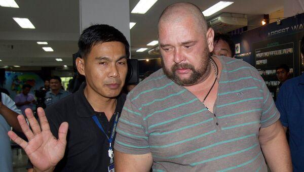Задержание Александра Матусова в Тайланде. Архивное фото