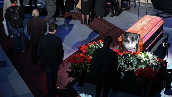 Прощание с видеоинженером ВГТРК Антоном Волошиным