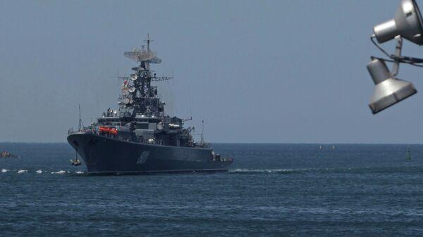 Корабль Черноморского флота РФ
