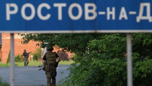 Ополченцы на востоке Украины, архивное фото