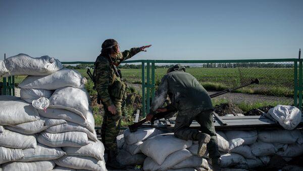 Бойцы народного ополчения Донбасса. Архивное фото