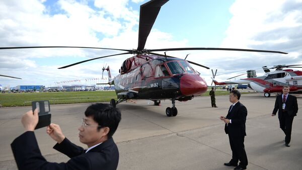Вертолет Ми-38-2. Архивное фото.