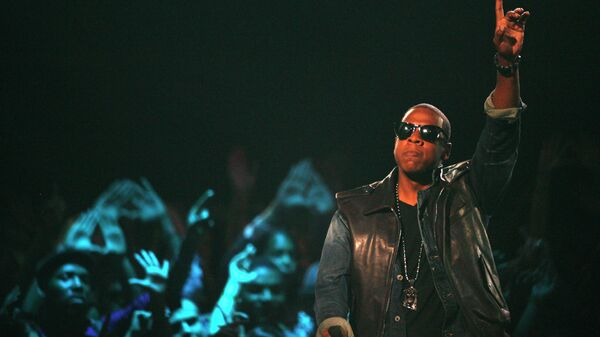 Американский рэпер Jay-Z