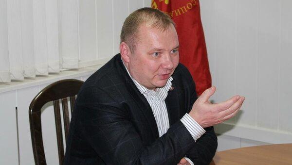 Руководитель фракции коммунистов в волгоградской областной Думе Николай Паршин. Архивное фото