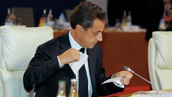 Николя Саркози. Архивное фото